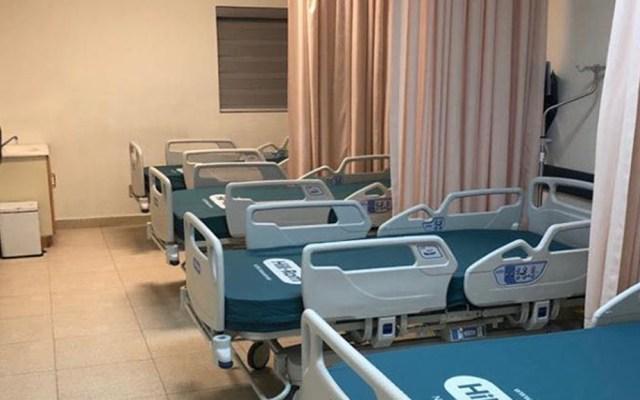 Baja California suma mil 047 casos de COVID-19 y 136 defunciones - Camas de hospital para atender a pacientes con COVID-19 en Baja California. Foto de @BC.SecretariaSalud
