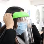 Estudiantes desarrollan caretas de protección con impresoras 3D