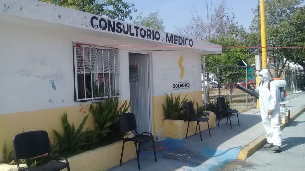Difunden medidas preventivas contra COVID-19 en náhuatl en SLP - Foto de @lfernandogamez