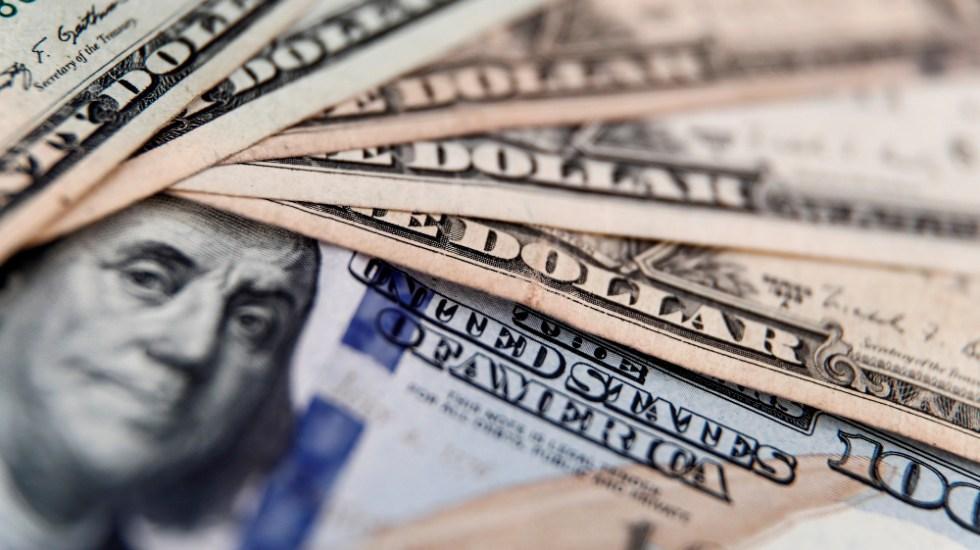 Fed mantiene tasa de interés sin cambios; actividad económica se mantiene en bajos niveles, asegura - Dólares estadounidenses. Foto de EFE / Archivo