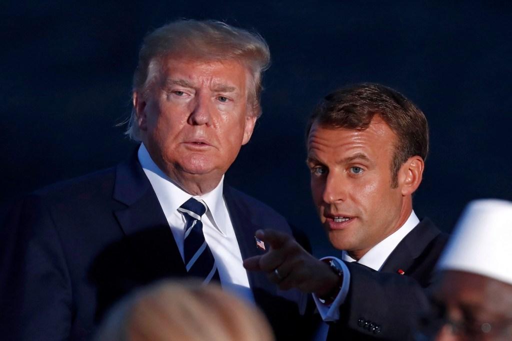 Trump y Macron coinciden en reformar la OMS, asegura la Casa Blanca - Foto de EFE
