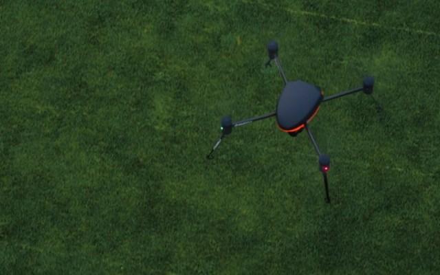 Desarrollan 'dron de la pandemia' para enfrentar al COVID-19 - Dron para la pandemia de COVID-19. Foto de Draganfly Inc