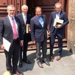 Empresarios presentan a AMLO propuesta de reactivación económica