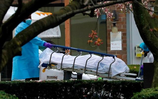 EE.UU. registra más de tres mil muertes en un día por COVID-19; equivalen a los decesos por 11 de septiembre - Estados Unidos Muertos coronavirus COVID-19