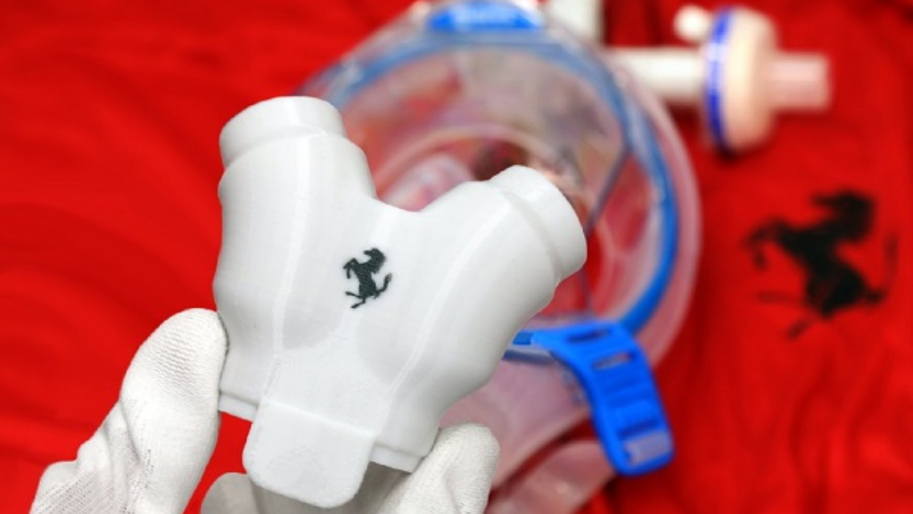 Ferrari continúa fabricación de equipo médico ante COVID-19 - Ferrari insumos médicos equipo fabricación