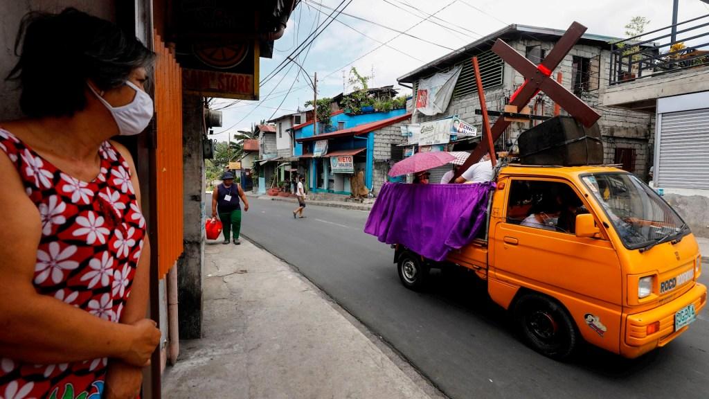Filipinas celebra Viernes Santo sin fieles por COVID-19 - Filipinas viernes santo COVID-19