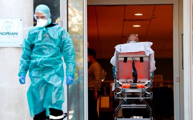 Francia supera los 6 mil 500 muertos por el coronavirus - Foto de EFE