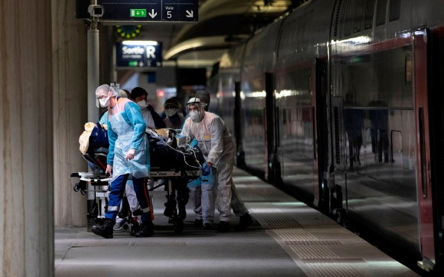 Suman 4 mil 32 muertos por COVID-19 en Francia; 509 en 24 horas - Francia muertos coronavirus COVID-19