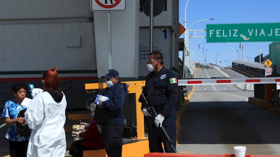 México impondrá, un mes más, restricciones a tránsito terrestre en fronteras norte y sur - Frontera México Estados Unidos 2