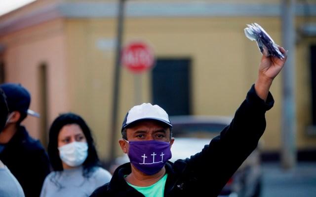 Casi 10 mil detenidos por no respetar toque de queda en Guatemala - Foto de EFE