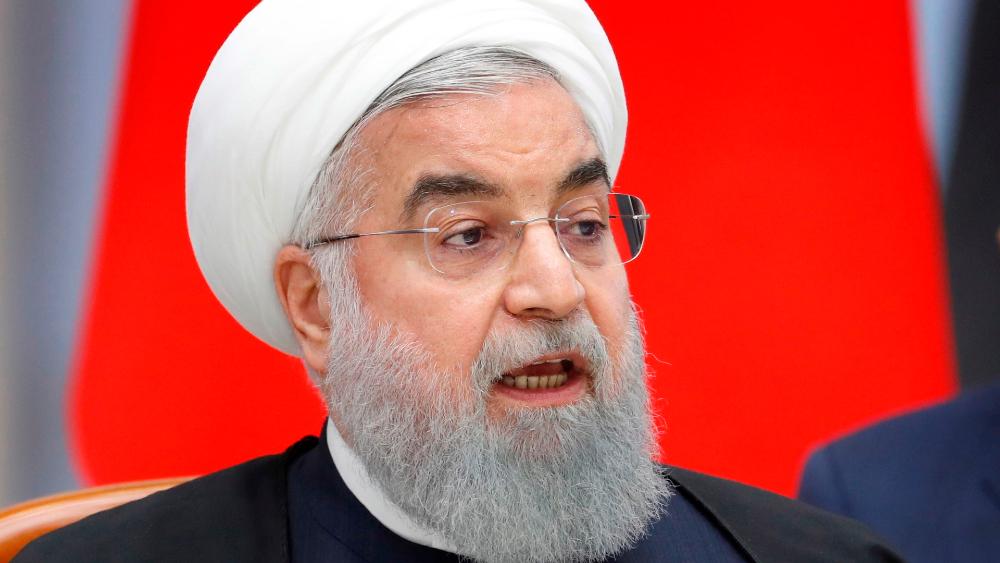 Irán dijo que vigila a EE.UU. en Golfo Pérsico, pero no iniciará un conflicto - El presidente iraní Hasán Rohaní. Foto de EFE