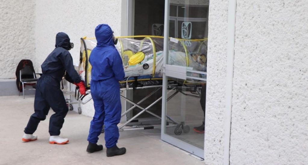 Hospital en Coapa da de alta a 12 casos graves de COVID-19 - Hospital IMSS Villa Coapa