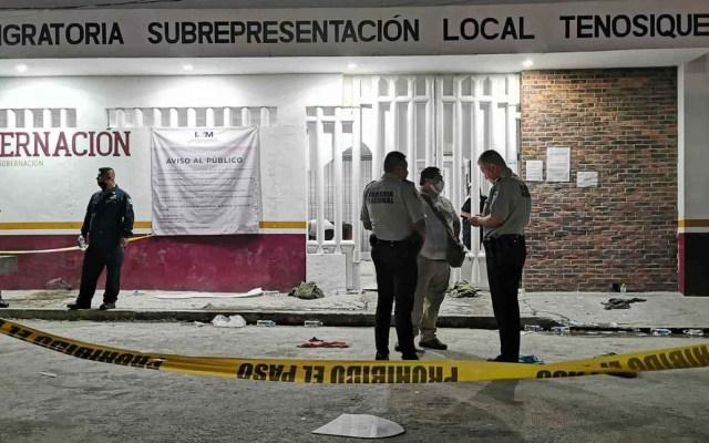 CNDH pide proteger integridad de migrantes tras deceso de guatemalteco en Tabasco - En la estación del INM de Tenosique, Tabasco, un guatemalteco murió luego de que se registrara un incendio, durante intento de motín