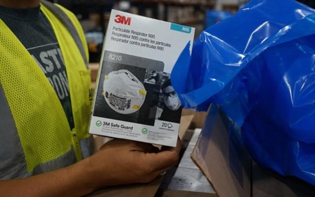 Alertan por sitios apócrifos de venta de respiradores y mascarillas - Foto de @3MNews