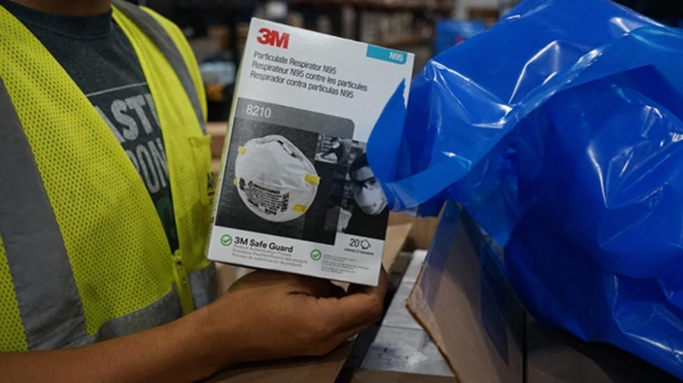 Denuncian por robo de mascarillas N95 a empleado gubernamental en Florida - Foto de @3MNews