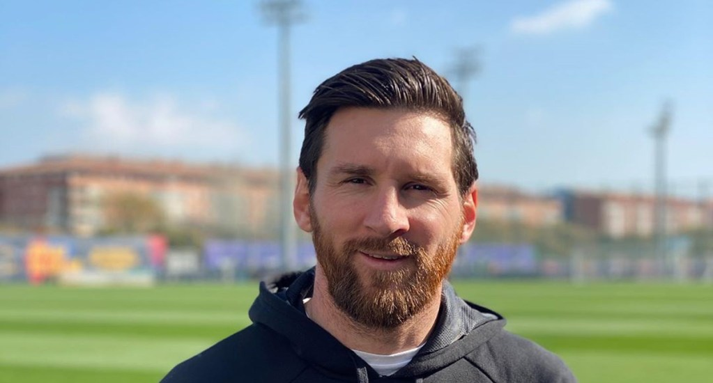 #Video Deportistas argentinos agradecen a médicos que luchan contra COVID-19 - Lionel Messi