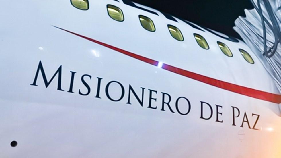 Aterrizó el 'Misionero de Paz' en México con insumos médicos para atender COVID-19 - Foto de @Aeromexico