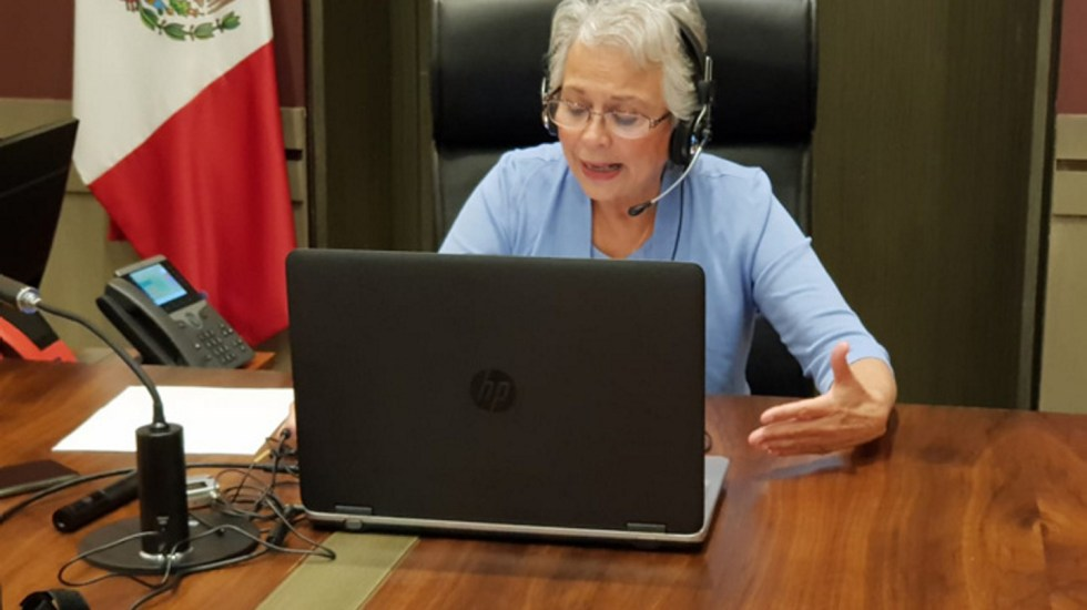 Olga Sánchez Cordero coordinará directamente áreas que dependían de Subsecretaría de Gobierno - Foto de Notimex