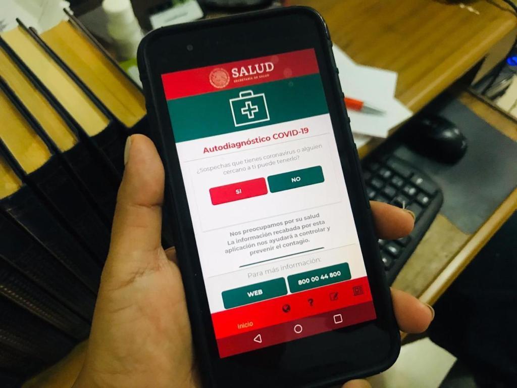 Salud presenta la aplicación COVID-19MX - Foto de López-Dóriga Digital