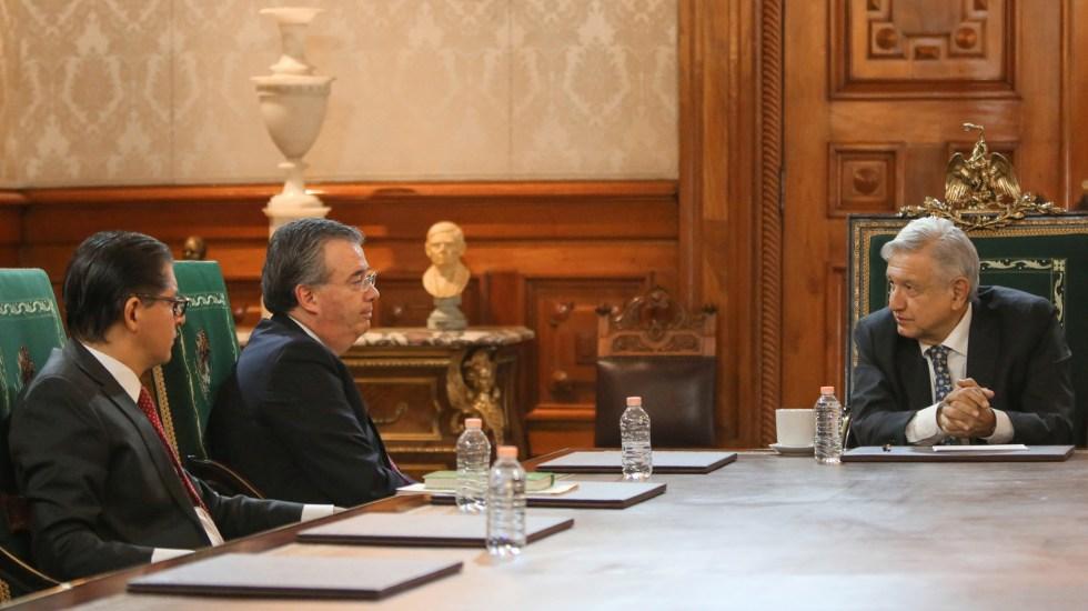 AMLO sostiene 'encuentro cordial' con gobernador de Banxico - Reunión de AMLO con gobernador de Banxico. Foto de @lopezobrador_