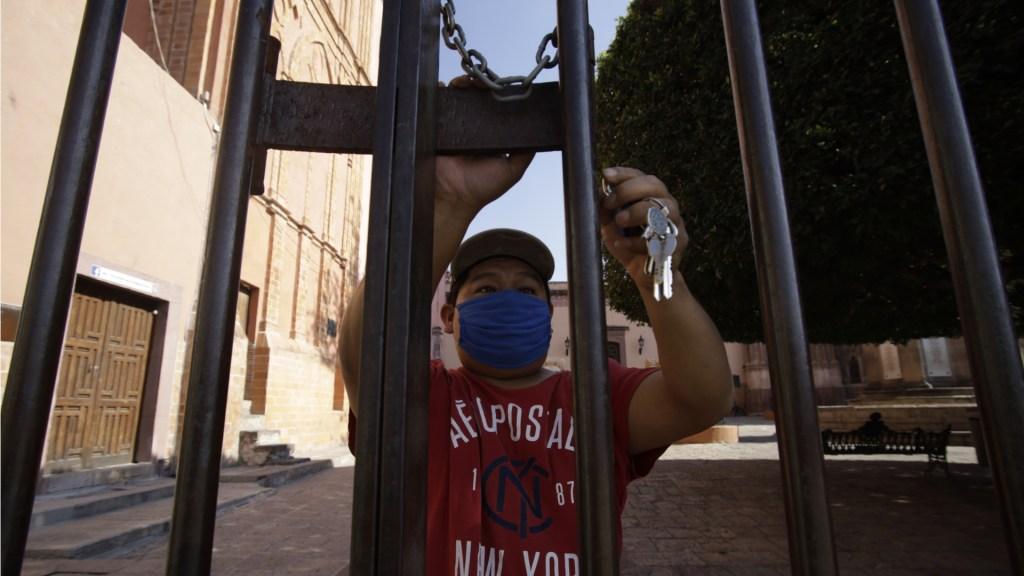 San Miguel de Allende rompe con tradición de 200 años de celebrar Viacrucis - San Miguel de Allende iglesia parroquia 2