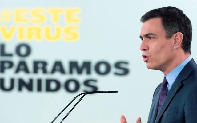 El medio español La Razón dejará de participar en las ruedas de prensa del presidente Pedro Sánchez - Pedro Sánchez. Foto de EFE