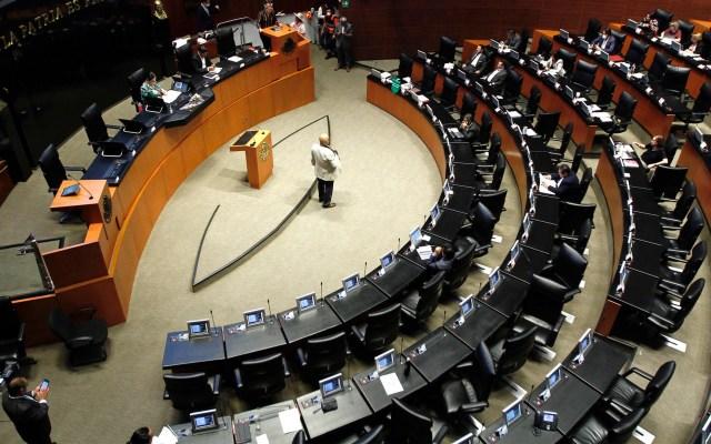Senado aprueba en lo general y artículos reservados de la primera ley reglamentaria del T-MEC - Senadores coronavirus COVID-19