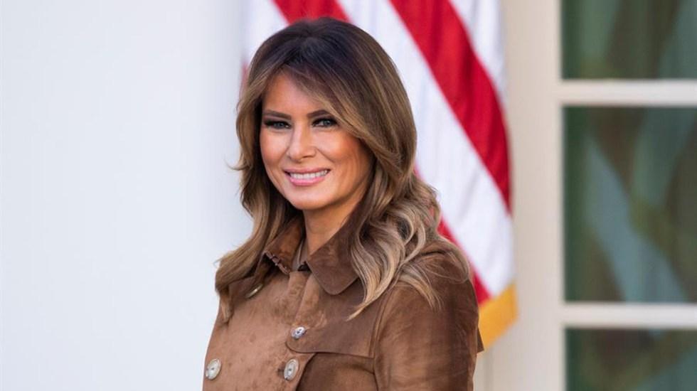 """Melania elogia la """"autenticidad"""" de Donald Trump en Convención Republicana - Melania Trump. Foto de EFE"""
