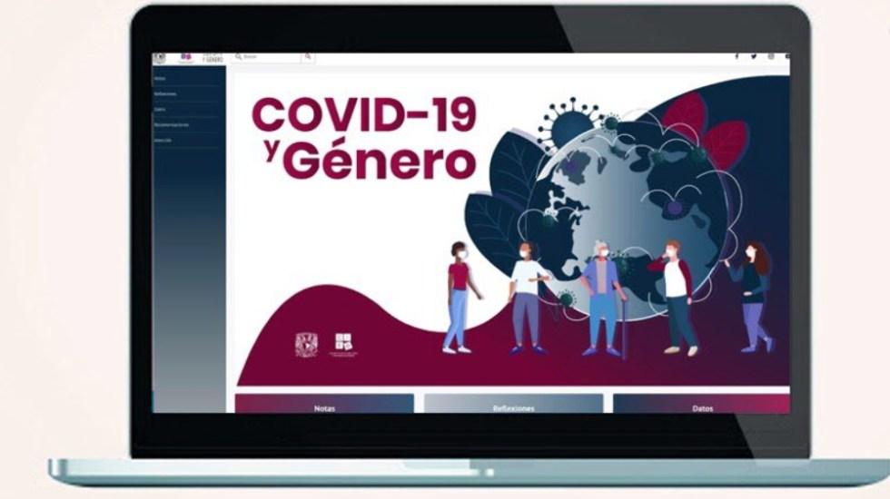 Crea la UNAM portal 'COVID-19 y Género' - Foto de UNAM
