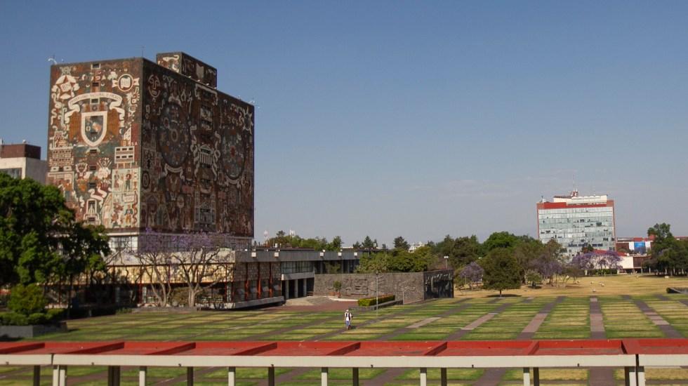 UNAM rechaza vínculo con presuntas actividades de facturación ilícita - En la imagen, las instalaciones de la UNAM. Foto de Notimex