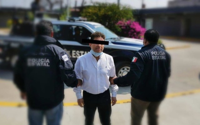 Dan prisión preventiva a exdiputado acusado de ataque con ácido contra saxofonista - Foto de Fiscalía Oaxaca