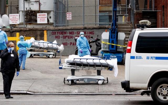 México reitera llamado a evitar viajes a EE.UU. por COVID-19 - Víctimas mortales de COVID-19 en Estados Unidos. Foto de EFE