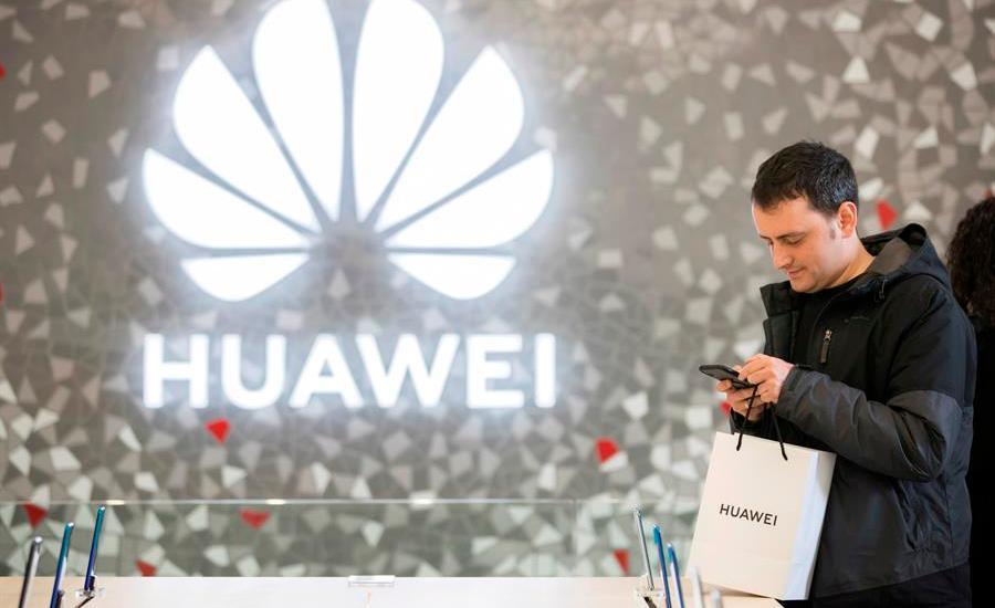 EE.UU. concede nueva moratoria a Huawei hasta mediados de agosto - Foto de EFE.