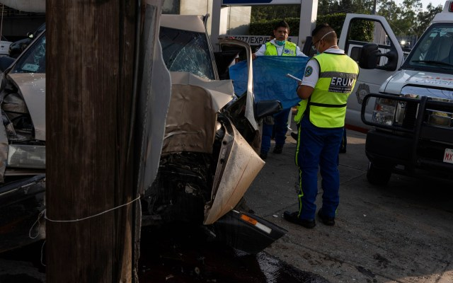 Aumentan accidentes viales en México durante epidemia de COVID-19 - accidentes viales coronavirus COVID-19
