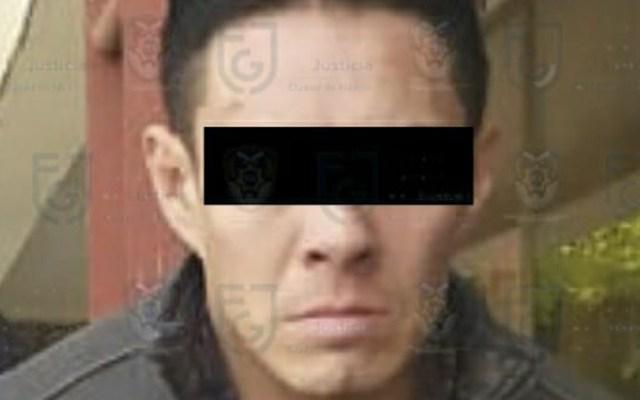Detienen en la Gustavo A. Madero a presunto violador - Alexander N., detenido por presunta violación. Foto de @AlmazanBarocio