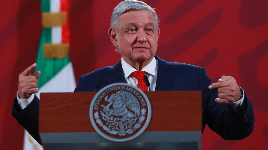 'Mañaneras' de AMLO son un espectáculo sin ningún valor: The Guardian - El presidente Andrés Manuel López Obrador durante su conferencia matutina este 4 de mayo. Foto de Notimex-Francisco Estrada.