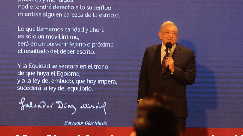 O estás a favor de la transformación o del régimen de corrupción: AMLO - Foto de Notimex