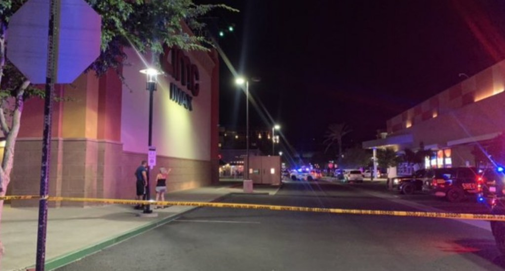 Tiroteo en Arizona deja al menos dos lesionados; hay un detenido - Arizona tiroteo Glendale plaza comercial