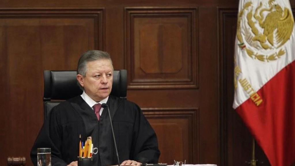 Responde el ministro Arturo Zaldívar al presidente López Obrador: revisará si procede indagar al juez Gómez Fierro - Arturo Zaldívar, ministro presidente de la Suprema Corte de Justicia.