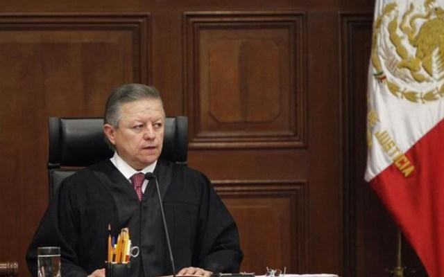 Frente a descalificaciones, SCJN demostró independencia y autonomía: Arturo Zaldívar - Arturo Zaldívar, ministro presidente de la Suprema Corte de Justicia.