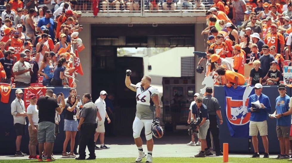 Denver promete sorprender en campaña 2020 de la NFL - Foto de Twitter @Dalton_Risner66