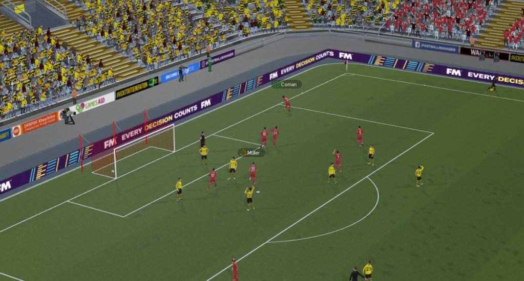 Manchester United demanda a Sega por el videojuego Football Manager - Captura de pantalla del videojuego Football Manager