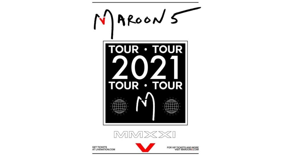 Maroon 5 anuncia que su gira de este año se reprograma para el 2021 por COVID-19 - Maroon 5 anuncia que su gira de este año se reprograma para el 2021