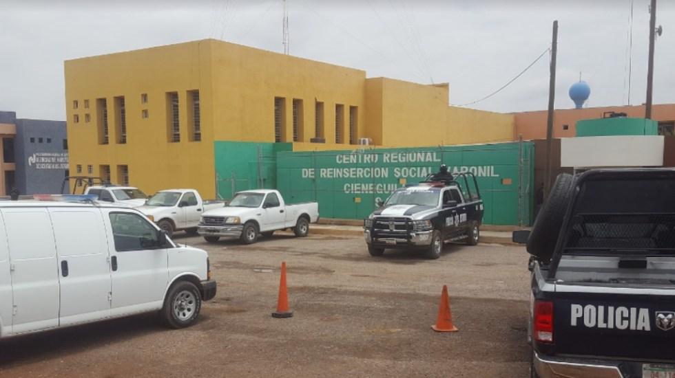 Controlan motín en penal de Cieneguillas, en Zacatecas - Centro Penitenciario y de Reinserción Social (Cereso) de Cieneguillas