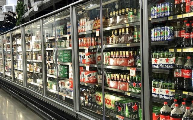 Alcaldía Coyoacán limitará la venta de bebidas alcohólicas los fines de semana - Cervezas bebidas supermercado México