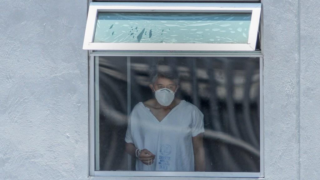 México registró en las últimas 24 horas 3 mil 542 nuevos casos y 235 muertes por COVID-19 - Ciudad de México COVID-19 coronavirus hospital paciente