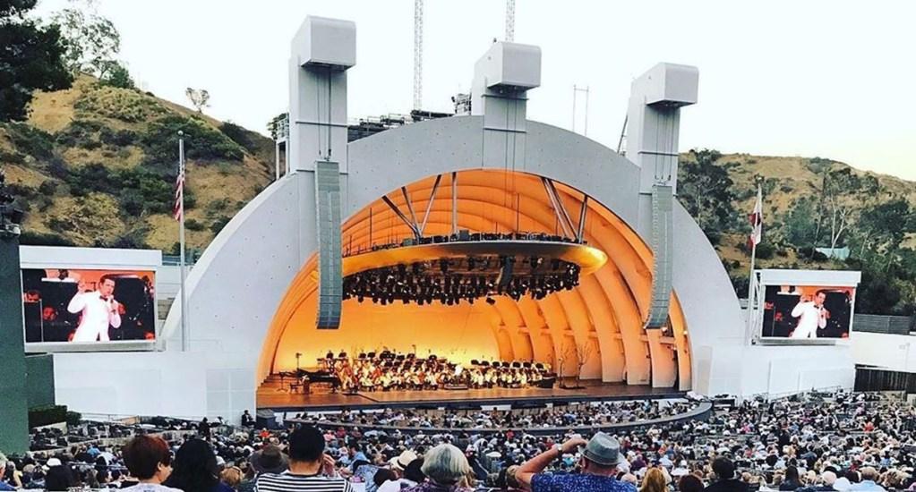 Hollywood Bowl de Los Ángeles cancela temporada 2020 por pandemia - Concierto en Hollywood Bowl. Foto de @eliana.saenz