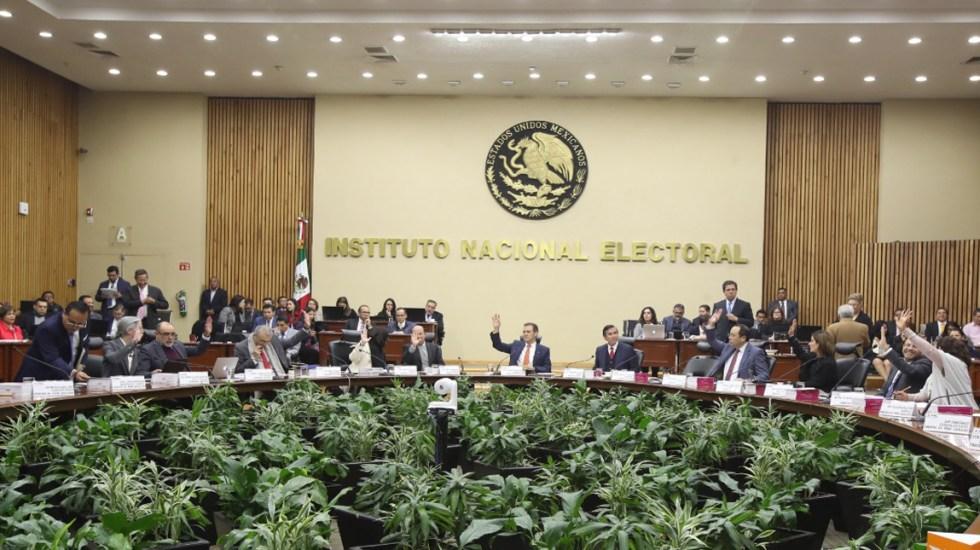 INE multa a siete organizaciones que aspiran a convertirse en partidos políticos por irregularidades - INE
