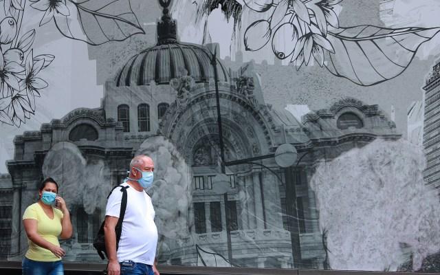 Uso de cubrebocas en el Centro Histórico de la Ciudad de México - El uso de cubrebocas se ha vuelto indispensable para salir y realizar actividades como medida preventiva para evitar contagios de COVID-19. Foto de Notimex-Francisco Estrada.
