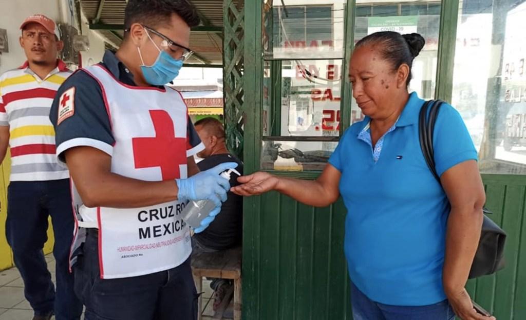 Cruz Roja Mexicana trabaja ya en planes para después de la cuarentena - Foto de Cruz Roja Mexicana